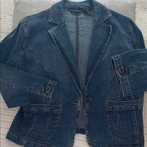 A.N.A denim blazer